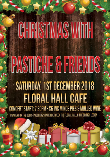 Christmas with Pastiche & Friends